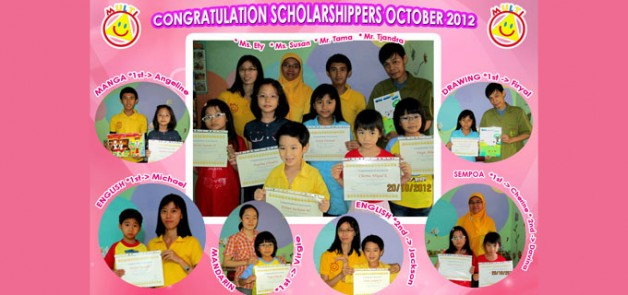 Scholarshippers October 2012